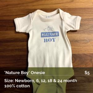 Nature Boy Onesie