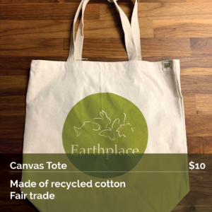 Earthplace Canvas Tote