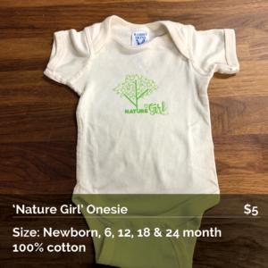 Nature Girl Onesie