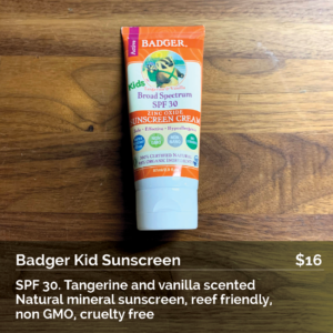 Badger Kid Sunscreen SPF 30