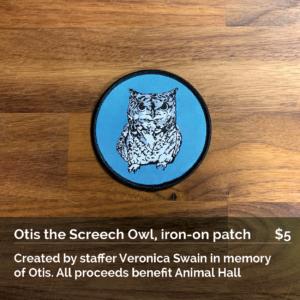 Otis the Screech Owl Iron-on Patch