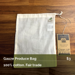 Gauze Produce Bag
