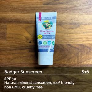 Badger Sunscreen SPF 30